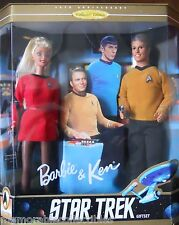 Barbie Ken Doll STAR TREK 30 Anniversary Doll Gift Set Phaser Tricorder Pop 1996