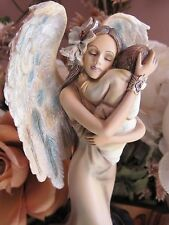 JESSICA GALBRETH Angel Figurine COMFORT by Munro makers of FAERIE GLEN fairies