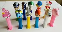 Pez Dispensers Lot! 11 Dispensers Batman Hello Kitty Looney Tunes Muppets More