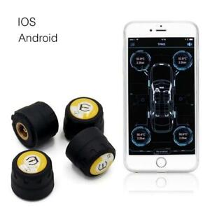 External installed Bluetooth 4.0 TPMS Car Tire Tyre Pressure Monitoring System