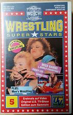 Wrestling Superstars - World Woman Wrestling - Vol. 5 - VHS Rarität !!