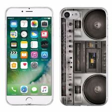 For Apple iPhone 8 Slim-Fit TPU Gel Protector Phone Case - BoomBox