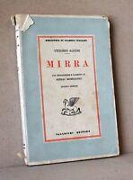 Mirra - Alfieri - Vallecchi - biblioteca di calssici italiani - 2° edizione