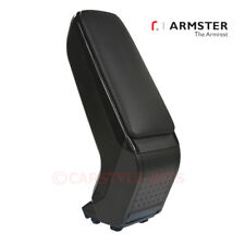 FIAT 500 / 595 / Abarth '2016> Armster S Armrest Centre Console Arm Rest - Black