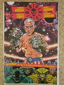 DIE! DIE! DIE! #14 Image Comics Kirkman BARACK OBAMA BOXER VS ALIENS NM-!