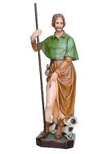 Saint Roch resin statue cm. 100