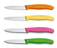 "Victorinox Kitchen Paring Knife, Straight Edge Spear Tip, 3.25"", 4-Pack"