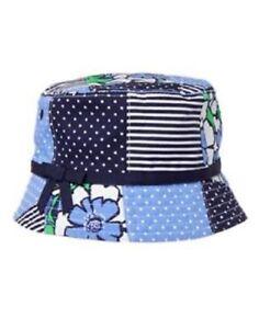 Gymboree Girl's Plaid Patch Bucket Sun Hat NWT Size 6-12,12-24 Mos.2T-3T,4T,5T