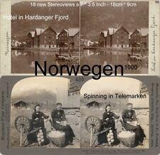 18 Stereoviews Norway Norwegen Christiania  Lot 5