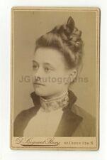 19th Century Fashion - 1800s Carte-de-visite Photo - D. Sargeant Stacy of London