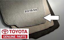 2006-2012 Toyota RAV4 Ash Gray Carpet Floor Mats Set W/O 3rd Genuine OEM OE