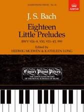 ABRSM EPP No 18 Eighteen Little Preludes by Bach **10% Discount**