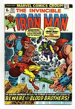 Iron Man Vol 1 No 55 Feb 1973 (FN) 1st app of Thanos, Drax, Starfox, Mentor