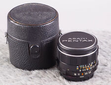 Mint PENTAX Super Takumar 28mm f/3.5 Lens for M42 Screw Mount w/Caps & Case