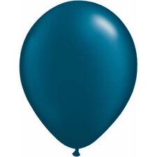 Bulk 50x Metallic Pearl DARK NAVY MIDNIGHT BLUE BALLOONS Helium or Air Fill