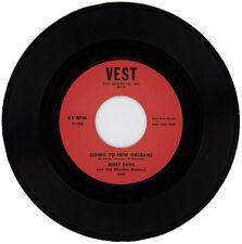 "BOBBY DAVIS & THE RHYTHM ROCKERS  ""GOING TO NEW ORLEANS""  BLUES JUMPER   LISTEN!"