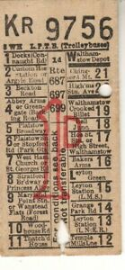 Bus/Tram ticket LPTB (trolleybuses) 1d routes 687 697 699