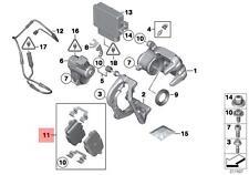 Genuine BMW 5 Series F10 F11 F18 X3 X4 Rear Brake Pads Pad Set OEM 34216862202
