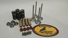 YFZ450R YFZ 450R +1mm Kibblewhite Black Diamond Valves Springs Head Rebuild Kit