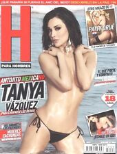 REVISTA H TANYA VAZQUEZ SEPTIEMPRE SEPT 2011 H PARA HOMBRES MEXICAN MAGAZINE NEW