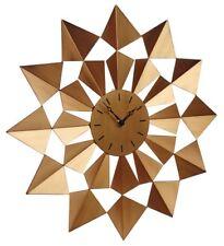 Arabian Star Indoor / Outside Garden Clock - Retro Design Bronze / Copper Colour
