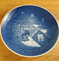 1977 Bing & Grondahl B&G Copenhagen Christmas plate 7 inch plate Denmark