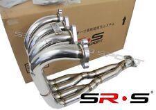 SRS H2B header Tri-Y step collector design H22 with B series trans engine swap