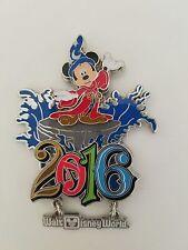 Disney Parks 2016 Walt Disney World Metal Magnet with Sorcerer Mickey Mouse