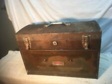 Vintage Dayton Electric MFG. Metal Machinist  Tool Box 7 drawer Steam  Punk