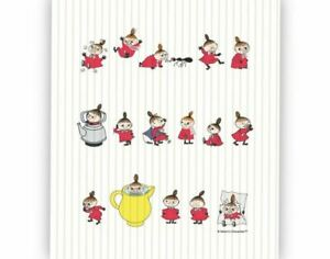 Moomin Dishcloth Little My Online Optodesign 17 x 20 cm