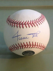 """Willie Mays Giants Mets Autographed Official MLB Baseball """"Say Hey"""" Hologram"""