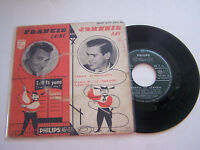 EP 4 TITRES VINYLE 45 T , FRANKIE LAINE , JOHNNIE RAY . VG - / VG + . PHILIPS