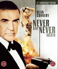NEVER SAY NEVER AGAIN (1983) Blu-ray REGION FREE *Anniversary Edition*