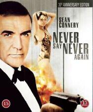 NEVER SAY NEVER AGAIN (1983) Region free Blu-ray *Anniversary Edition*