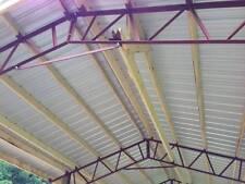 24' pole barn steel truss agriculture