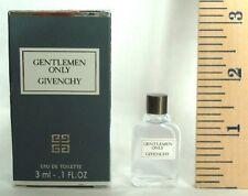 GENTLEMEN ONLY By Givenchy Eau De Toilette 3ml-0.1 OZ. Splash. MINI (note* mi...