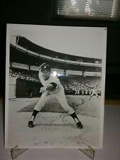 Whitey Ford N.Y. Yankees signed 8×10