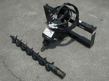 "Bobcat Skid Steer Attachment - Lowe BP210 Hex Auger with 6"" Bit - Ship $199"