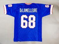"Joe DeLamielleure Autographed Signed NFL Bills Jersey Inscribed ""HOF03"" JSA Coa"