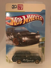 Hot Wheels Speed Blur 71 Datsun 510 Wagon 5 Pack Exclusive Custom Card ONLY