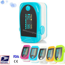 Fingertip Pulse Oximeter Oxygen Checker Digital PR SPO2 Monitor Pulsoximeter A+