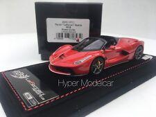 BBR Models 1/43 Ferrari LaFerrari Aperta 2016 Rosso Corsa BBRC187C1