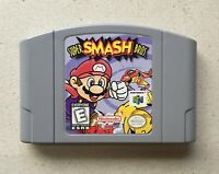 Super Smash Bros. (Nintendo 64, 1999) N64 Cart Only Tested Authentic USA Release