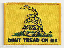 DONT TREAD ON ME - TRADITIONAL - IRON or SEW ON PATCH
