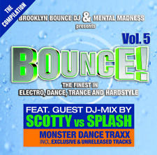 CD Brooklyn Bounce DJ and Mental Madness pres. Bounce 5  2CDs
