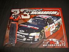 2012 ROBERT RICHARDSON JR. #23 NORTH TEXAS PIPE NATIONWIDE NASCAR POSTCARD
