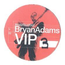 Bryan Adams - World Tour 2002 - Konzert-Satin-Pass VIP 3 - Sammlerstück
