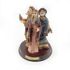 Vtg Duncan Royale Magi History Of Santa 1st Ed Ltd Ed Figurine