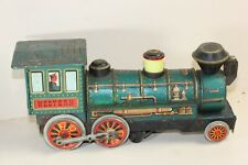 Vintage Japanese Tinplate Western Loco, Battery Powered