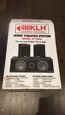 Klh Ht-9930 Home Theater Speaker System Brand New In Box
